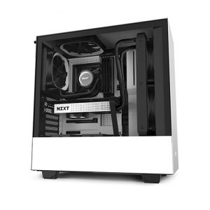 NZXT H510 COMPACT MID TOWER WHITE AND BLACK CASE